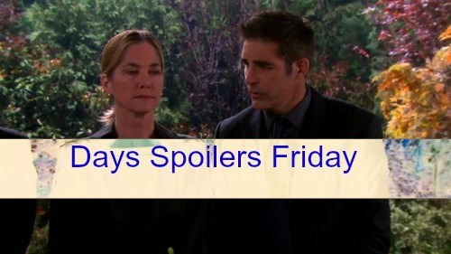 Days of Our Lives Spoilers (DOOL): Paige's Funeral Brings Pain and Anger - Eve and Eduardo React, Chad Suffers
