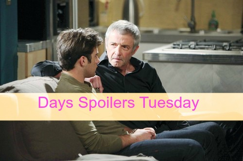 Days of Our Lives (DOOL) Spoilers: Stefano and Chad Plot, Aiden To Kill Clyde? Baby Tate's Health Crisis