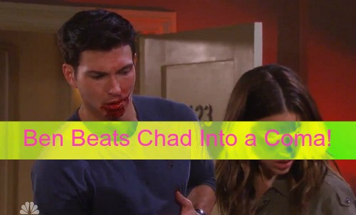 Days of Our Lives (DOOL) Spoilers: Unhinged Ben Cruelly Beats Chad into a Coma – Will's Death Makes Huge Waves