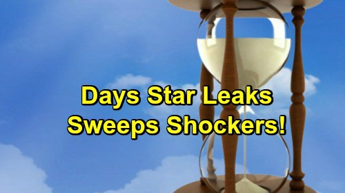 Days of Our Lives Spoilers: DOOL Star Leaks Sweeps Surprises – Scary Salem Shockers Ahead
