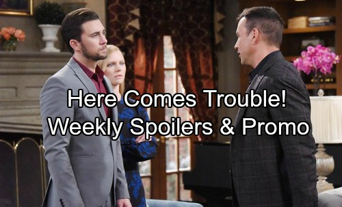 Days of Our Lives Spoilers: Week of January 1 - Stefan Stirs Up Trouble – Chad and Abigail Caught in Ruthless DiMera's Web