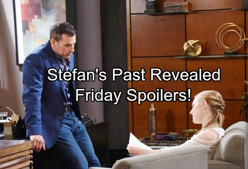 Days of Our Lives Spoilers: Friday, January 12 - Brady Grabs Vivian's Throat – Stefan Opens Up to Abigail