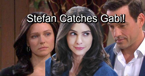 Days of Our Lives Spoilers: Stefan Catches Gabi With Incriminating Evidence - Gabi Comes Clean About Setting Up Abigail