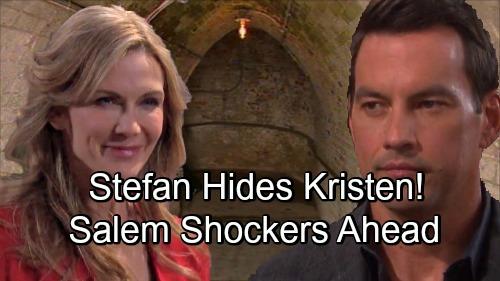 Days of Our Lives Spoilers: Stefan Hides Kristen in DiMera Tunnels - Siblings Plot To Wreak Havoc On Salem