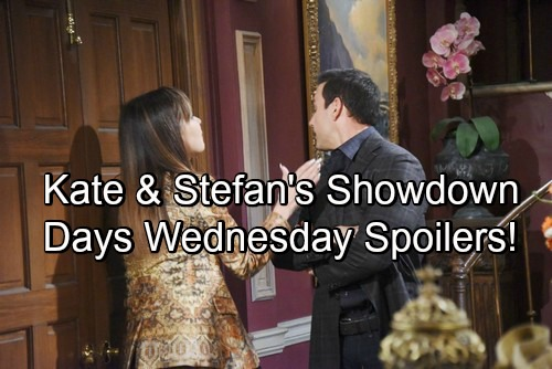 Days of Our Lives Spoilers: Wednesday, May 16 – Stefan and Kate's Explosive Showdown – Gabi Gets Great News