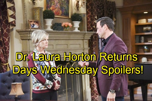Days of Our Lives Spoilers: Wednesday, May 30 – Grandma Laura Helps Abigail – Gabi's Attacker Murdered – Hope Faces Ben Nightmare
