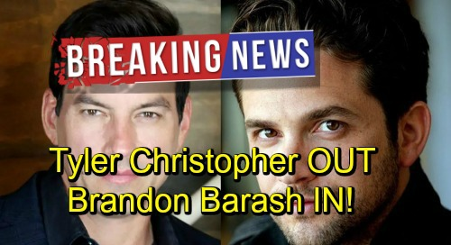 Days of Our Lives Spoilers: Breaking News - Tyler Christopher Replaced By General Hospital's Brandon Barash - New Stefan DiMera
