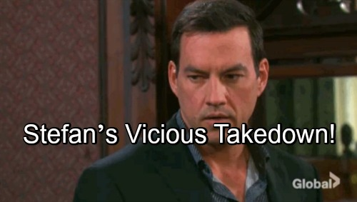 Days of Our Lives Spoilers: Stefan's Vicious Takedown – Roman Teams Up with Kate for DiMera's Destruction