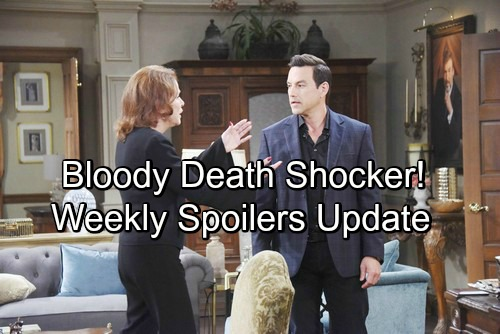 Days of Our Lives Spoilers: Week of May 7-11 Update – Bloody Death, Big Secrets and Shocking Consequences