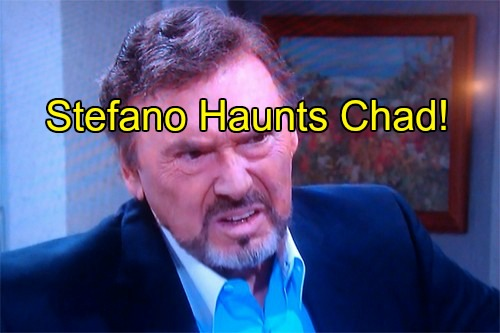 'Days of Our Lives' Spoilers: Stefano Haunts Chad - Demands He Forget Abigail After Andre Fakes Abby's Death
