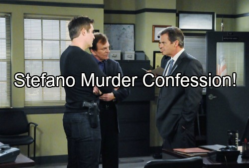 'Days of Our Lives' Spoilers: Mystery Man Confesses to Stefano's Murder, Rafe and Roman Shocked – Monahan Paid Off by Andre