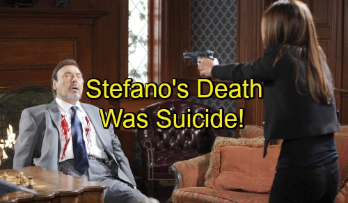 'Days of Our Lives' Spoilers: Stefano Committed Suicide Using Hope - Rafe and Shawn Learn Stefano Terminally Ill, Wanted to Die