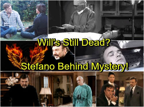 Days of Our Lives Spoilers: Stefano DiMera Behind Will Horton Mystery – Evil Plan Revealed, Will's Still Dead