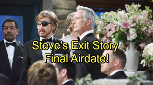Days of Our Lives Spoilers: Steve Arrested For Espionage - Leaves Kayla Behind and Lots of Questions Unanswered - Final Airdate