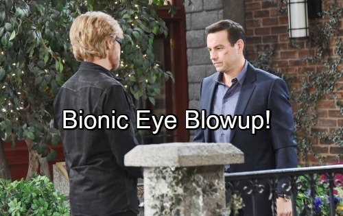 Days of Our Lives Spoilers: Kayla Lies to Puzzled Steve – Scores Bionic Eye, But Secrets Lead To Blowup