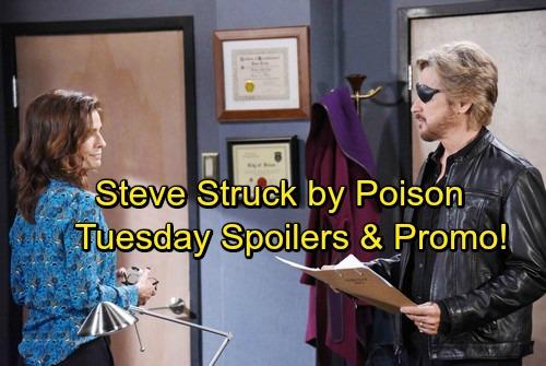 Days of Our Lives Spoilers: Tuesday, January 9 - Lani's Baby Bombshell - Steve's Startling Symptoms – Jennifer's Hot Date