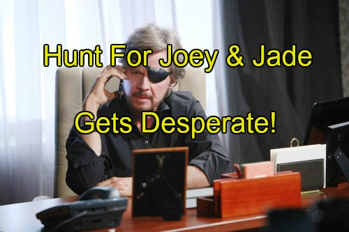 Days of Our Lives (DOOL) Spoilers: Hunt for Joey and Jade Intensifies – John Helps Steve, Kayla Hitches Ride with Fynn