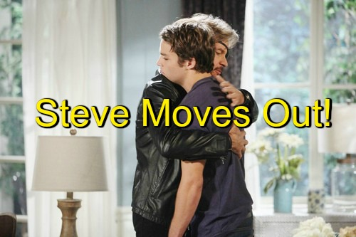 Days of Our Lives (DOOL) Spoilers: Steve Packs Up and Moves Out – Jealousy Emerges as Kayla Grows Closer to Fynn