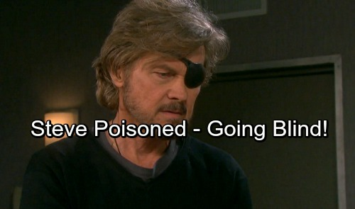 Days of Our Lives Spoilers: Steve Poisoned by a Shocking Enemy – Patch Threatened With Blindness
