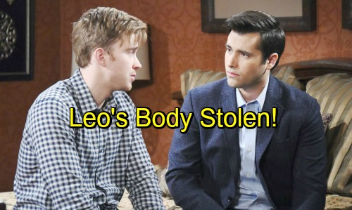 Days of Our Lives Spoilers: Will and Sonny Desperate To Find Leo's Body - Saboteur Steals Car, Corpse