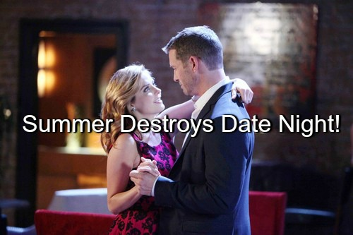 Days of Our Lives (DOOL) Spoilers: Summer Spoils Brady and Theresa's Date Night, Sparks Huge Battle