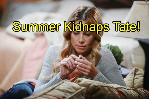 'Days of Our Lives' Spoilers: Theresa Dozes Off, Tate Kidnapped by Summer - Following Kristen DiMera's Orders?
