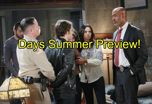 Days of Our Lives (DOOL) Spoilers: Summer Preview of Hot Plots – Death, Mystery and Big Returns!