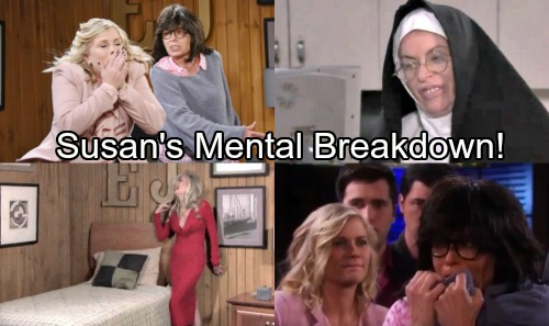 Days of Our Lives Spoilers: Susan Hospitalized For Mental Breakdown, Sister Mary Moira Shows Up - Will Kristen Save Susan?