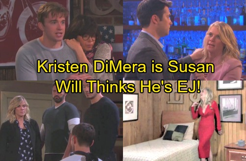 Days of Our Lives Spoilers: Susan Is Kristen DiMera Running Sick Scheme – Will Thinks He's EJ and Married to Sami