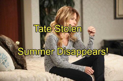 'Days of Our Lives' Spoilers: Tate Stolen, Summer Disappears – Theresa Blames Brady for Bringing Con Artist Into Their Lives