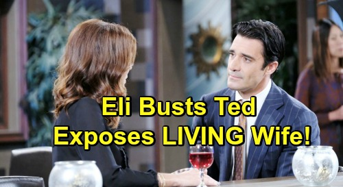 Days of Our Lives Spoilers: Eli Thinks Ted's Hiding Something - Is Ted's Wife Alive?