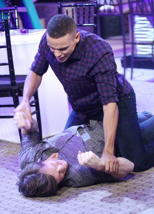 Days of Our Lives (DOOL) Spoilers: Sleazy Jock Forces a Kiss on Ciara – Theo Comes to Her Rescue, Beats Up Mark