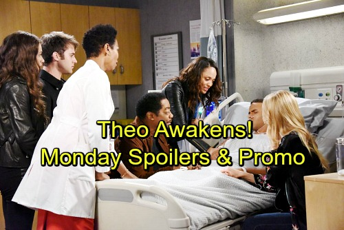 Days of Our Lives Spoilers: Monday, December 25 - Abe and Lani Get Christmas Wish, Theo Awakens