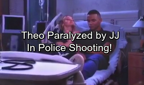 Days of Our Lives Spoilers: JJ Paralyzes Theo in Police Shooting – Jack's Spirit Appears to Guilt-ridden Son