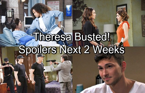 Days of Our Lives Spoilers for Next 2 Weeks: Theresa Busted, Chloe Appalled – Ciara in Grave Danger – Gabi's Next Murder