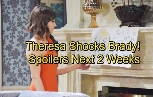 Days of Our Lives Spoilers for Next 2 Weeks: Steve's Vision Shocker – Theresa Stuns Brady and Eve – Lani's Baby Scare