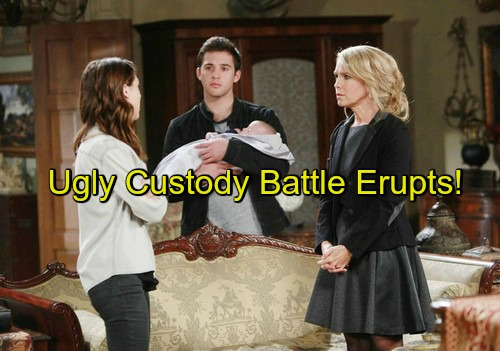 Days of Our Lives (DOOL) Spoilers: Jennifer Wants Custody, Get Thomas Away from Evil DiMeras – Chad Struggles to Keep Son