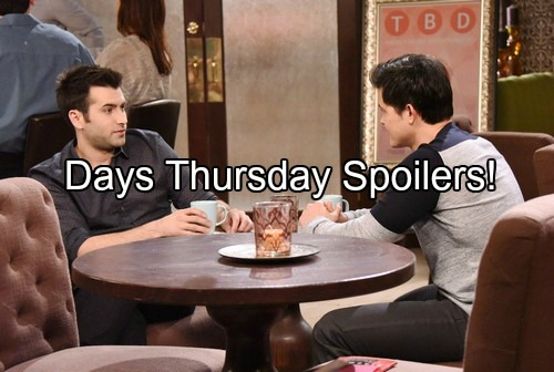 'Days of Our Lives' Spoilers: Theresa Solves Tate Kidnapping In Dream - Sonny Blasts Deimos, Meets Up with Paul