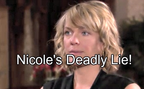 'Days of Our Lives' Spoilers: Nicole Protects Chloe's Secret – Deimos Demands Baby Truth, Dario Serves as Spy