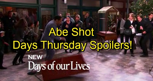 'Days of Our Lives' Spoilers: Clyde Fires Shot Into Abe, Creates Press Conference Mayhem – Hostage Situation Escalates