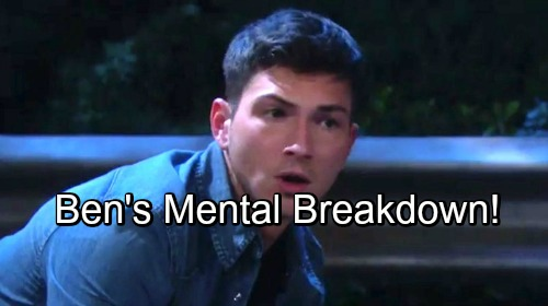 Days of Our Lives Spoilers: Ben Has Mental Health Breakdown – Ciara Desperate To Help Him