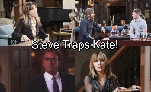 Days of Our Lives Spoilers: Steve Sets Shocking Trap For Kate