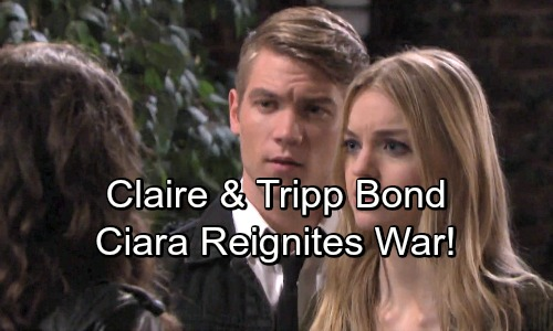 Days of Our Lives Spoilers: Dumped Claire and Tripp Bond Over Heartbreak – Ciara's War with Claire Reignites