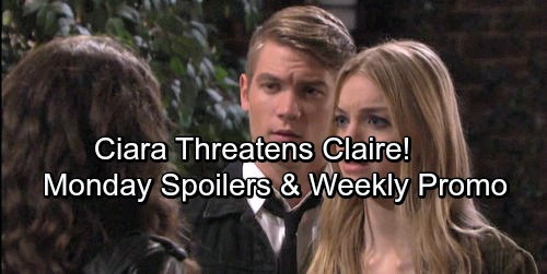 Days of Our Lives Spoilers: Monday, December 4 - Shawn and Belle Spill Bad News – Ciara Threatens Claire