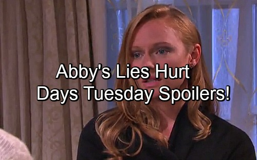 Days of Our Lives Spoilers: Abby's Lies Get Worse - Deimos Shocking Clue About Chloe's Baby – Andre Manipulates Gabi