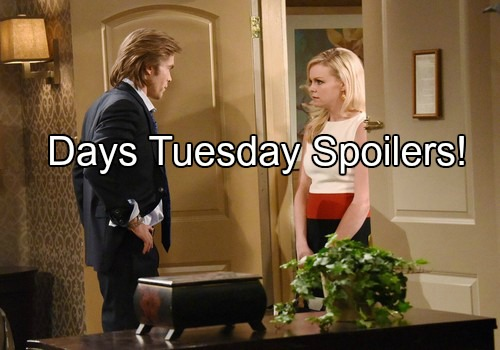 'Days of Our Lives' Spoilers: Battle for Nicole's Heart Heats Up – Claire Puts College on Backburner, Parents Clash