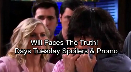 Days of Our Lives Spoilers: Tuesday, November 21 - Eve's War Heats Up – Will Faces the Truth, Susan Loses It