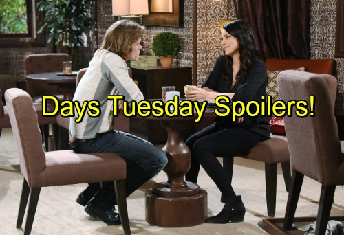 'Days of Our Lives' Spoilers: Hope Blasts Aiden, Quits Force Over Arrogant New DA – Chloe and Philip Make Up Baby Story