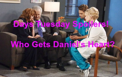 Days of Our Lives (DOOL) Spoilers: Maggie Chooses Who Gets Daniel's Heart - Chad Disgusted by Thomas Paternity