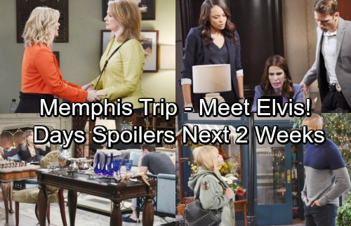 Days of Our Lives Spoilers: Next 2 Weeks - Halloween Hauntings Shock Salem – Familiar Face in Memphis